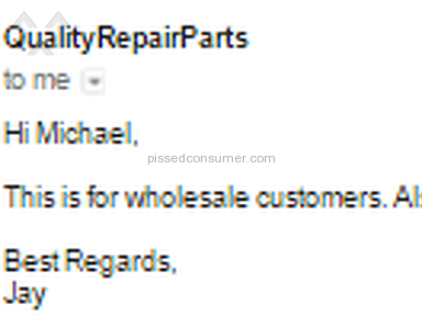 Qualityrepairparts Telecommunications review 73933