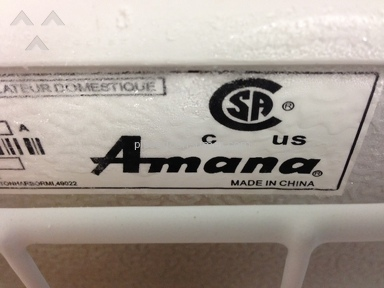 Amana Appliances and Electronics review 152384