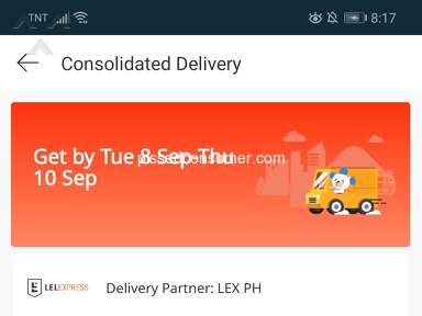 Lazada Philippines Shipping Service review 761439