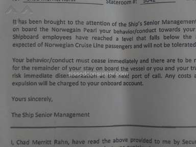 Norwegian Cruise Line Cruise review 172126