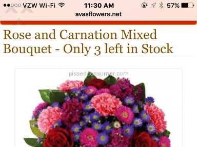 Avasflowers Rose And Carnation Mixed Bouquet review 195842
