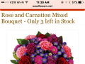 Avasflowers - Rose And Carnation Mixed Bouquet Review