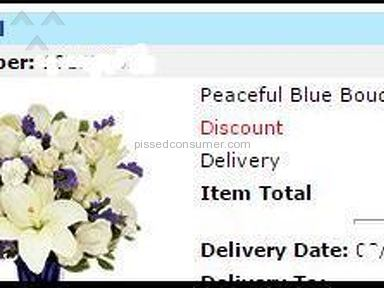 Send flowers on line here is NOT Trustable ... @FlowersSend sendflowers.com
