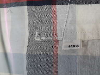 Levis - Levi's Shirts Faulty sent to customers via Online Store