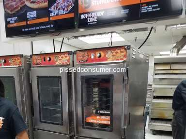 Little Caesars - Service issue