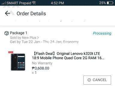 Lazada Philippines Shipping Service review 368890