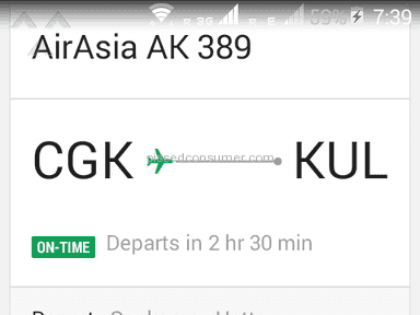 Air Asia - Wrong information