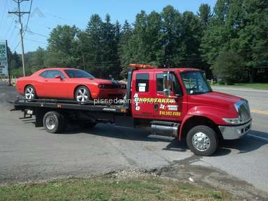 Auto Undertaker Towing And Repair - Auto undertaker dubois pa one bad review