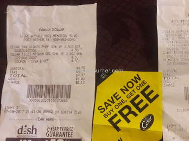 Family Dollar - Store #10184 want honor coupon n rude