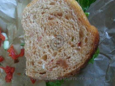 Panera Bread Mediterranean Veggie Sandwich review 262438