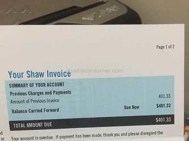 Shaw Cable - Never sign a contract with Shaw