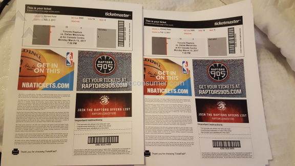 Ticket Center Toronto Raptors Vs Dallas Mavericks Basketball Ticket