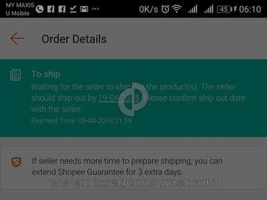 Shopee Malaysia - Shopee tidak bertanggungjawab jika seller menipu