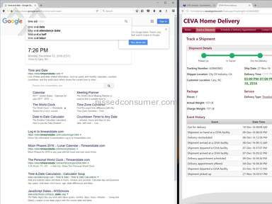 Ceva Logistics - CEVA Delivery Nightmare from ***