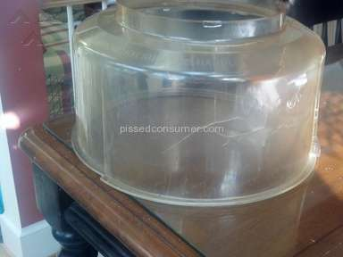 Hearthware Home Products - Dome Cracks - Improperly designed dome admitted by Hearthware but refuses to replace