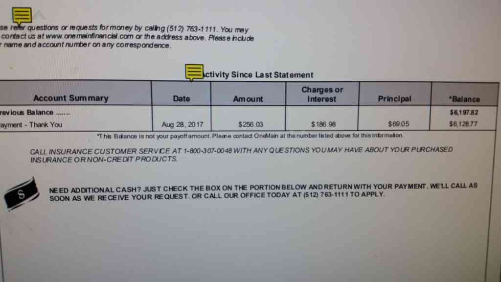 938 ONEMAIN FINANCIAL Reviews and Complaints Page 4 ... Onemain Financial