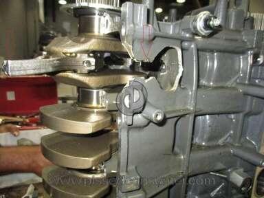 Yamaha Motor - Corrupt Yamaha four stroke F115 outboard engine 2013