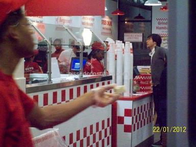 Five Guys Cafes, Restaurants and Bars review 6782