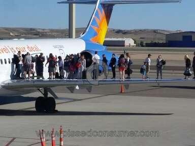 Allegiant Air Transport review 76113
