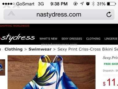 Nastydress Footwear and Clothing review 79143