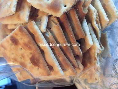 Nabisco - Burnt Saltine Crackers