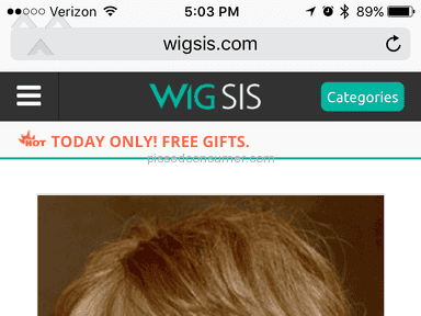 Wigsis Synthetic Wig review 222092
