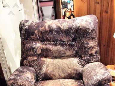 Lane Furniture - Lane Recliner fabric fade