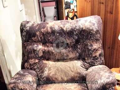 Lane Furniture - Lane Recliner fabric fade