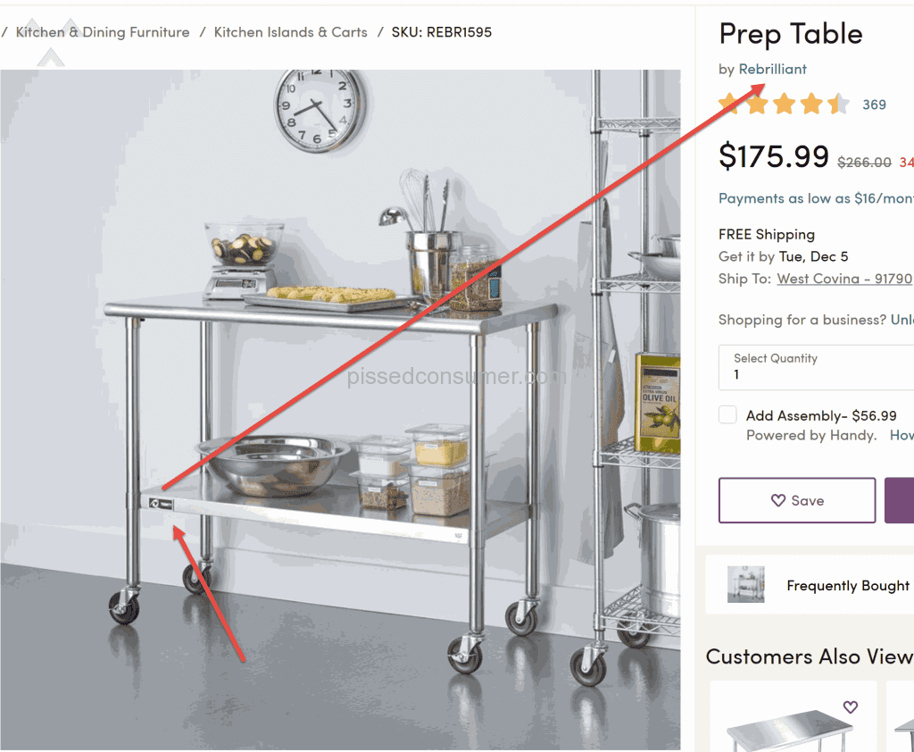 Wayfair   Overpriced Marked Up Disguised As Another Brand