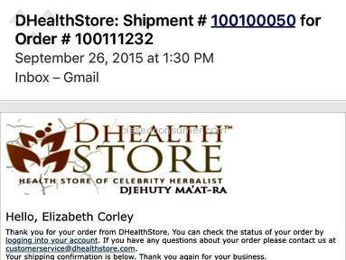 Dhealthstore Health and Beauty review 90503