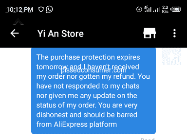Aliexpress Shipping Service review 504263