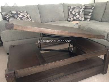 Levin Furniture   Table Review