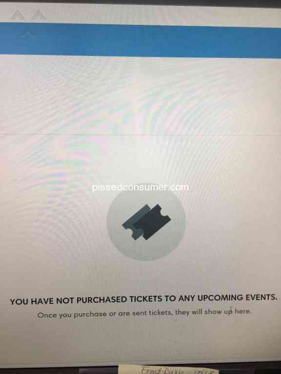 181 Ticketmaster Reviews and Complaints Page 4 @ Pissed Consumer