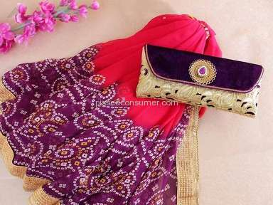 Indian Gifts Portal Saree review 155152