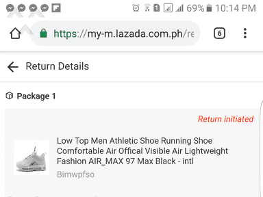 Lazada Philippines - Wrong item, tagal ng replacement, wala rin feedback