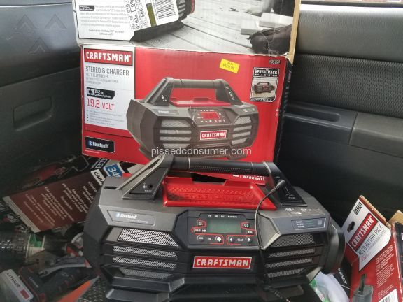 Craftsman C3 Radio