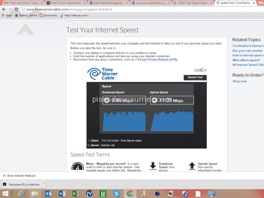 Time Warner Cable Internet Service review 102837
