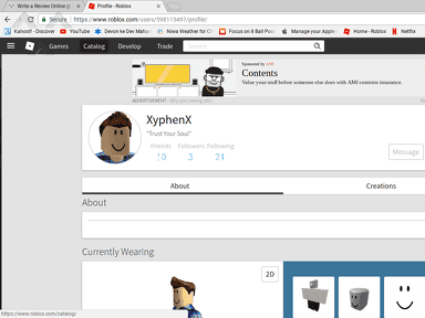 Roblox - My account got hacked