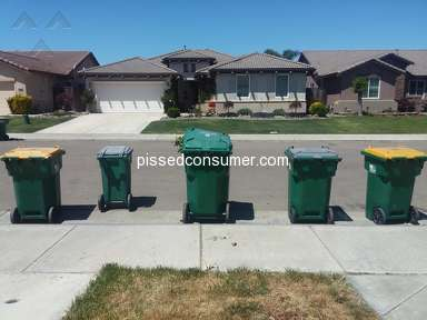 Waste Management - THEY DON'T PICK UP YOUR TRASH