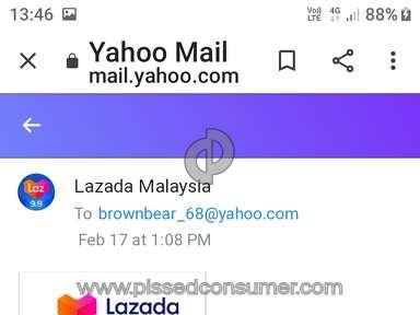 Lazada Malaysia Customer Care review 521525