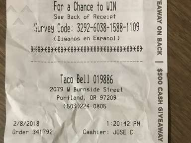 Taco Bell Quesarito Combo Meal review 263986