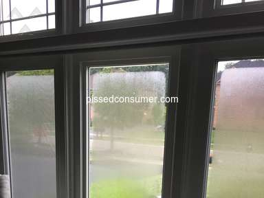 Wallside Windows - Good price, bad quality suffering every morning from condensation