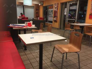 Kfc - Sanitary Conditions Review from Coral Gables, Florida