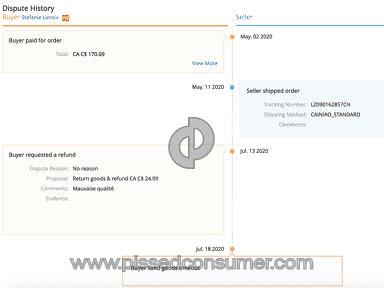 Aliexpress Profile review 691035