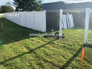Lowes - Fence installed on wrong property