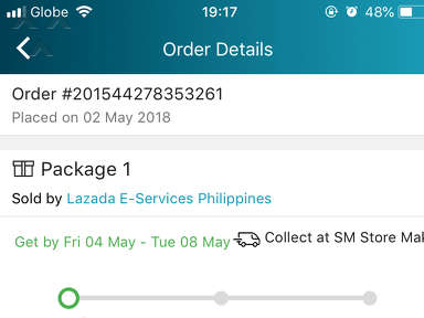 Lazada Philippines - Order not yet received