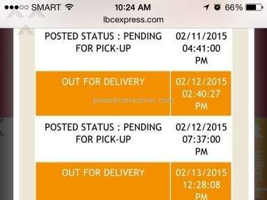 Lbc Express Shipping review 65679