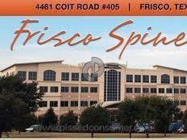 Spine Center Frisco Hospitals, Clinics and Medical Centers review 14127