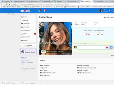 Zoosk Profile review 254778