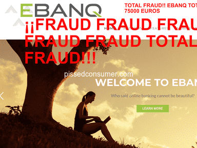 Banking4bankers.com & Ebanq.com / SCAM / FRAUD / BEWARE! REVIEWS